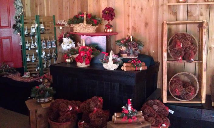 Bring the holiday cheer to your home with fresh pinecones, christmas decor, and personalized ornaments. Oregon Family Christmas Trees wants to help capture the magic of Christmas.